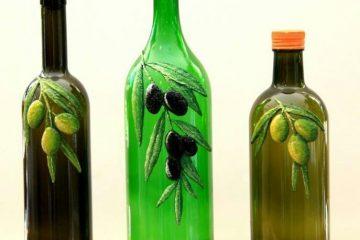 Zeytinyağı şişelerine ruh katıyor